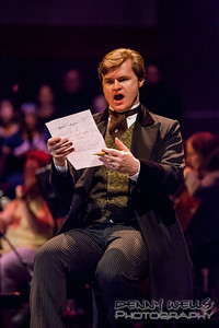 President Kirk Dougherty as Joseph Treat in Anchorage Opera's world premier or Mrs. President.