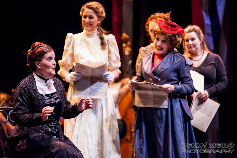 President<br /> Scandal on the pages of Woodhull's Weekly in Anchorage Opera's world premier of Mrs. President.