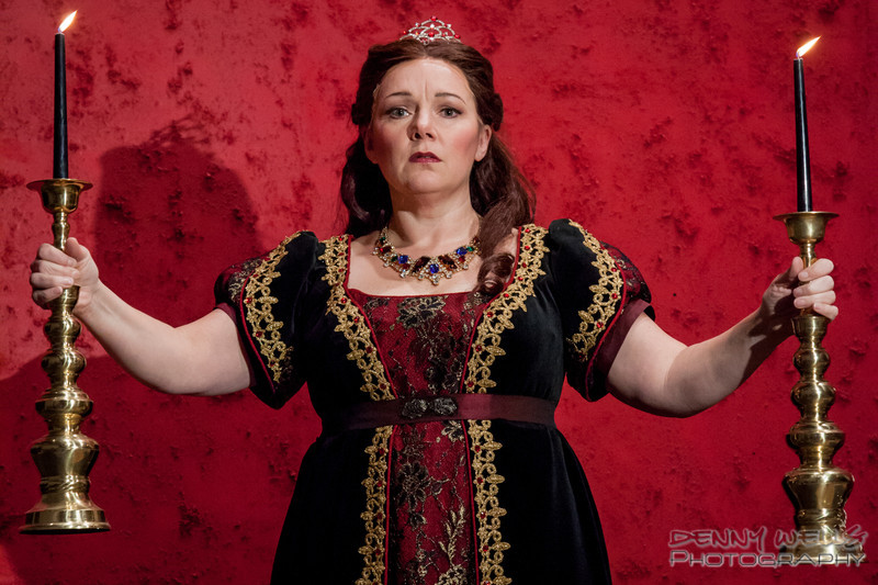 AO Tosca Marie Plette in the title role for Anchorage Opera's Tosca.