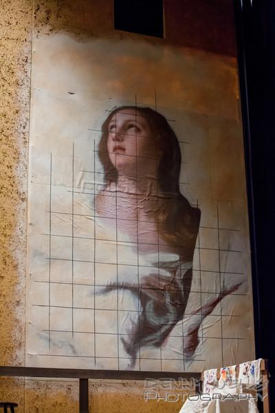 AO Tosca<br /> Cavaradosi's Painting.
