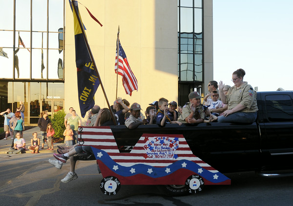 Don Knight   The Herald Bulletin<br /> Anderson's Independence Parade on Thursday.