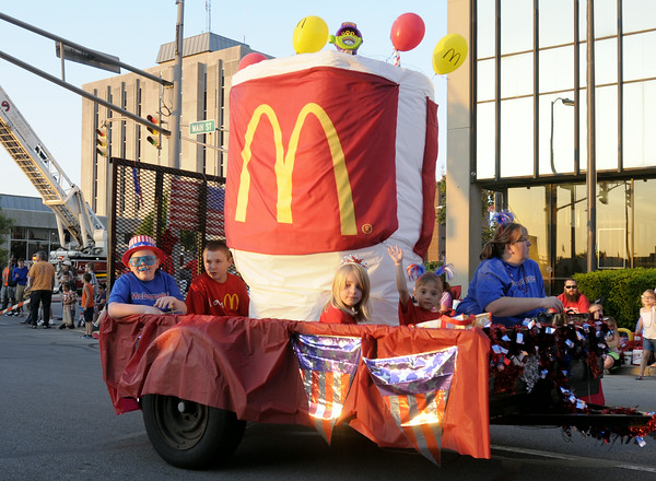 Don Knight | The Herald Bulletin<br /> Anderson's Independence Parade on Thursday.