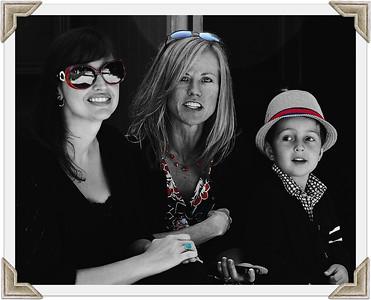 Lesli, Laura and Kieron