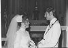 Kathleen Leclaire, left, and Andy, right, hold hands on their wedding day on Oct. 23, 1976. Submitted Photo