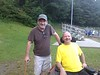 Andy Leclaire is seen with his brother Dean, on Aug. 4, 2014. Dean passed from ALS on Feb. 17, 2015. Submitted Photo