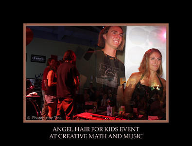 Angel Hair for Kids Event ... http://www.creativemathandmusic.com/Photos_AHE_Aug9-09.php August 9, 2009