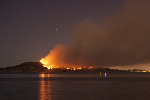 Angel Island Fire