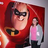 Angela's new man, Mr. Incredible