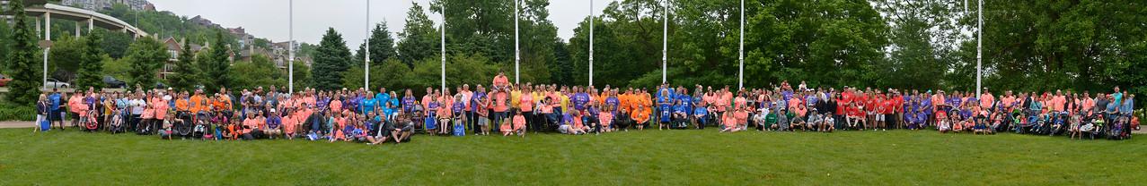 2017 Cincinnati Angelman Syndrome Walk Group 01