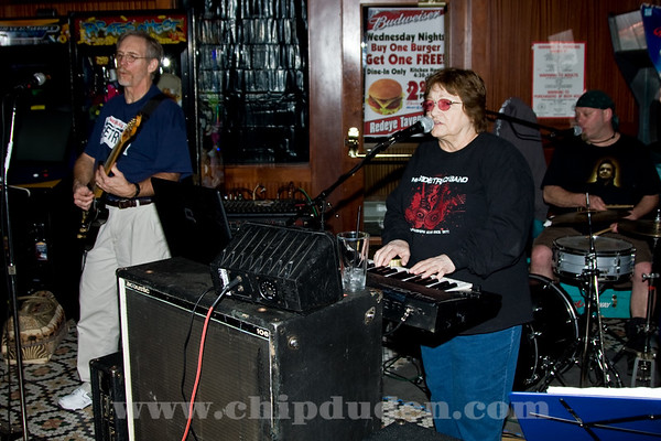 Joyce and Paul from the Sidetrack band.