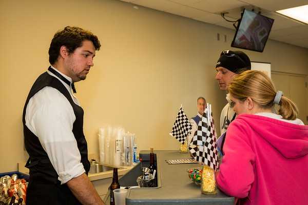 May 14, 2016 Host Committee donors enjoying the Angie's List Grand Prix at IMS  in donor hospitality suites and pit/garage tours.