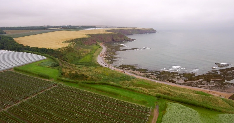 Angus fruit farms Aerial stills