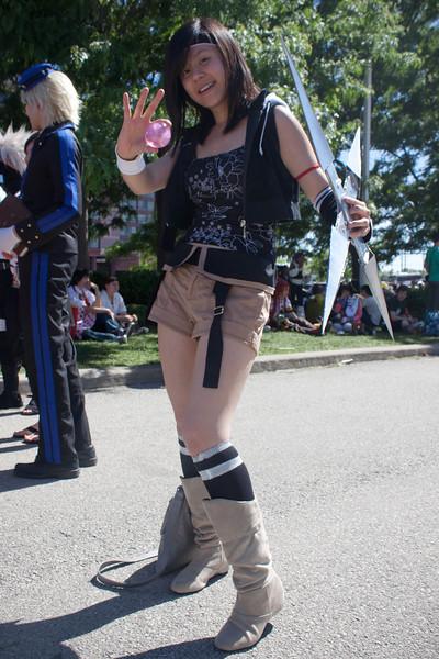 Yuffie from Final Fantasy 7: Advent Children