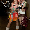 (L-R) Oerba Dia Vanille, Lightning from Final Fantasy 13