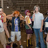 (L-R) Beat, Rhyme, Neku, Shiki, Joshua, Uzuki from The World Ends With You