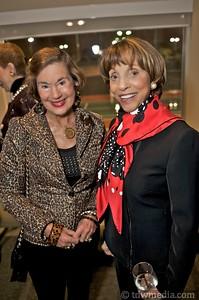 Diana Dalton and co-hostess Chotsie Blank