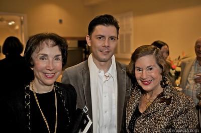 Merla Zellerbach, Damion Matthews and Diana Dalton