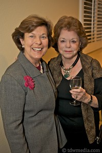 Mary Robinson and Louise Brady