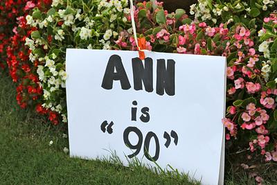 Ann Williams' 90th Birthday
