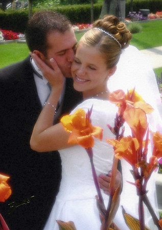 Anna and Chad's wedding August 16th 2002