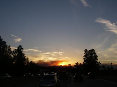 Annaheim Hills, CA Wildfire February 2006