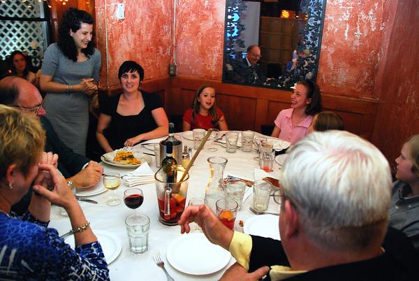 Anniversary Dinner 2008