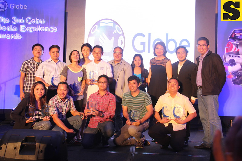Cebu Media Excellence Awards 2014 winners