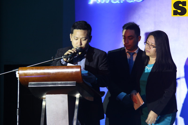Announcement of Cebu Media Excellence Awards 2014 winners