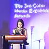 Yoly Crisanto, Senior Vice President of Globe Telecome Corporate Communications,