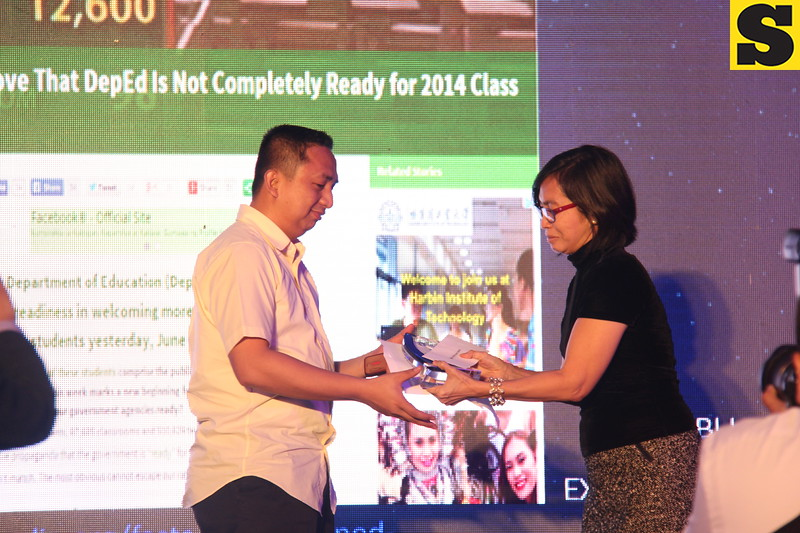 Ruben Licera was named Blogger of the Year