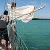 """On board Danger Charters' """"Sarah"""" for a kayaking and snorkeling trip off of Key West"""