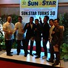 The ALA Boxers in the 30th anniversary appreciation night of Sun.Star at Waterfront Cebu City Hotel.