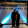 Publio Briones III and Erma Cuizon of Sun.Star Cebu attended the 30th anniversary appreciation night at Waterfront Cebu City Hotel.