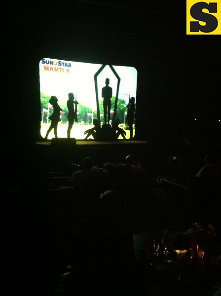 """One of the surprises in the Sun.Star 30th Anniversary Appreciation Night was the shadow performance from theater group El Gamma Penumbra, who gained popularity when they won in the 3rd season of Filipino reality show """"Pilipinas Got Talent."""""""