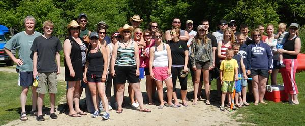 June 2012 Annual Canoe Trip