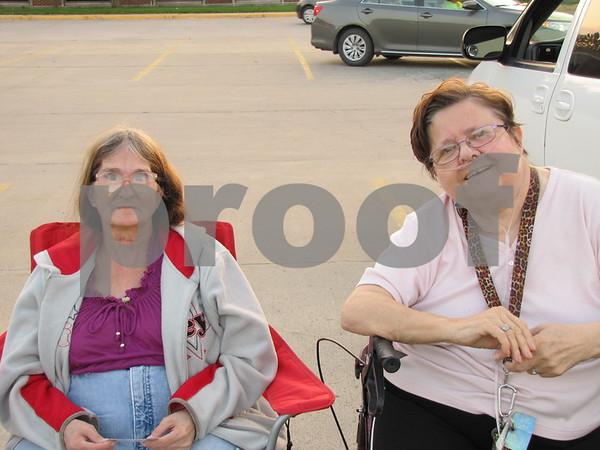 Joyce Hoban and Mary Bacan