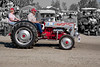 Ford Tractor with a T-bird engine on Parade