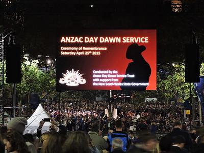 Anzac Day Sydney 2015
