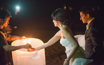Lantern Lighting on the Beach