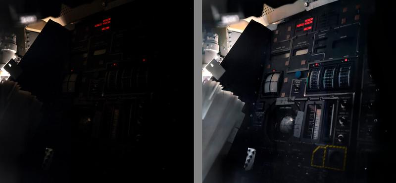 AS13-62-8932 med [original NASA scan on the left] vs my Restore v109