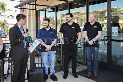 Apolo Greek Gyro Grill Ribbon Cutting Event Photography