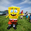 5/14/16 LEOMINSTER-- Spongebob hanging around on Saturday at the Apple Blossom Festival at Sholan Farm in Leominster.  Sentinel & Enterprise photo/Jeff Porter