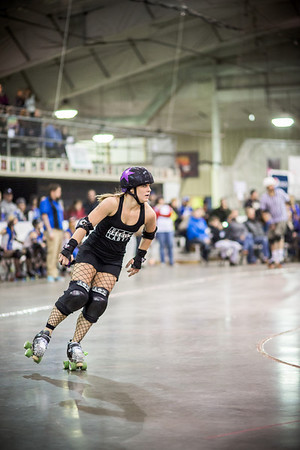 Apple City Roller Derby - Bout #1