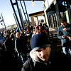 "People form lines and surround the Apple Store in the Twenty Ninth Street Mall in Boulder, Saturday, April 3, 2010. The i Pad went on sale Saturday morning. <br /> <br /> DAILY CAMERA/KASIA BROUSSALIAN<br /> <br /> For a video of the event, please visit  <a href=""http://www.dailycamera.com"">http://www.dailycamera.com</a>"
