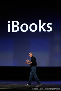 "Jobs: ""We think iPad is going to be a very popular e-reader--not just for bestsellers, but for textbooks as well."""