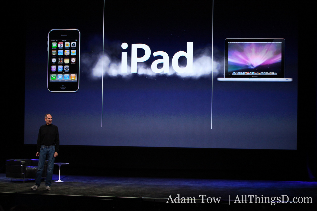 And it's called....drum roll please... the iPad.