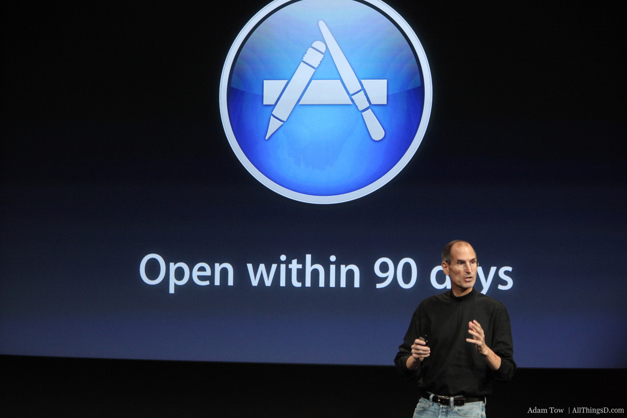App Store for the Mac opening in the next 90 days.