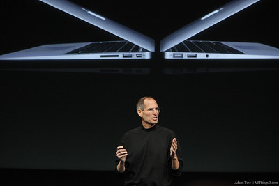 Steve Jobs on the new MacBook Airs.
