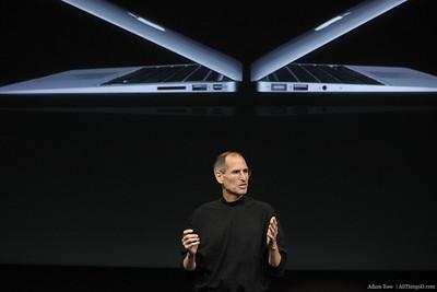 Steve Jobs on the new MacBook Airs.