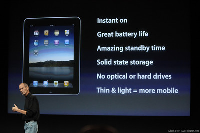 What's good about the iPad?